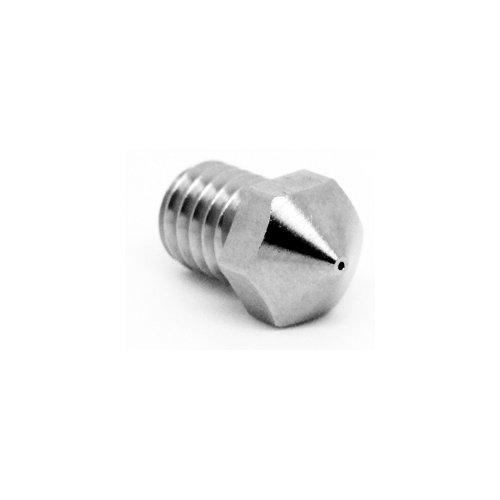 Micro Swiss Plated Wear Resistant Nozzle for Monoprice Mini/MP Select Mini/ProFab Mini/Malyan M200 .2mm by Micro-Swiss