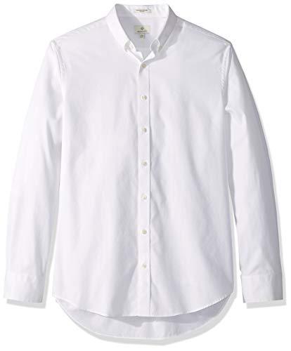 GANT Men's The Pinpoint Oxford Regular Fit, White M ()