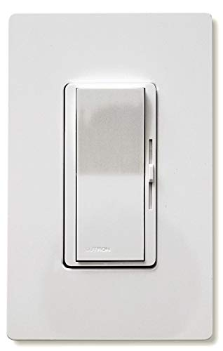 Lutron DVW600PH-WH White Diva Duo Dimmers