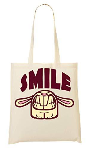 De AMS Bolsa La De Compra Mano Smiling Bunny Bolso RqwWq6HgS