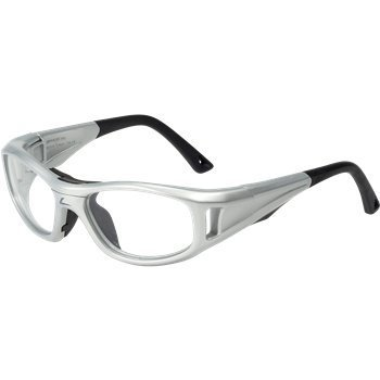 C2 Leader Prescription Ready Sports Goggle in Silver Medium Size
