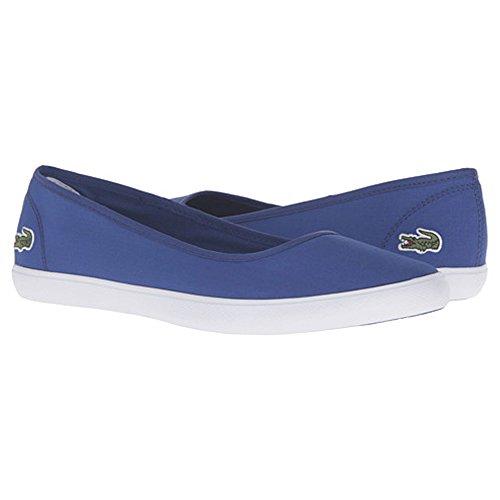 New Lacoste Women's Marthe Flat Blue 9.5