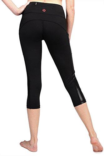 Myoga Women S Yoga Pants Workout Capri Leggings Running