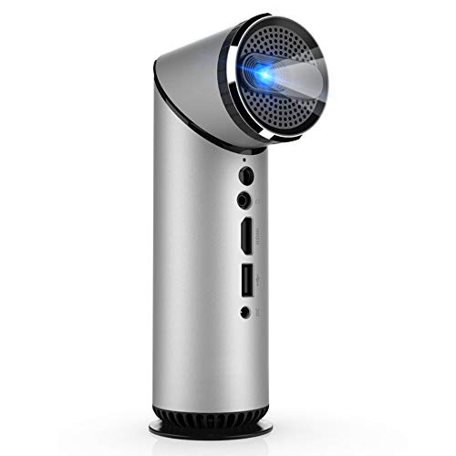 - BESTSUGER HD Video Projector, Mobile Phone Wireless Bluetooth Projector, Micro Home DLP Display Projection, Compatible HDMI/USB/TF/3.5MM Audio/DC in