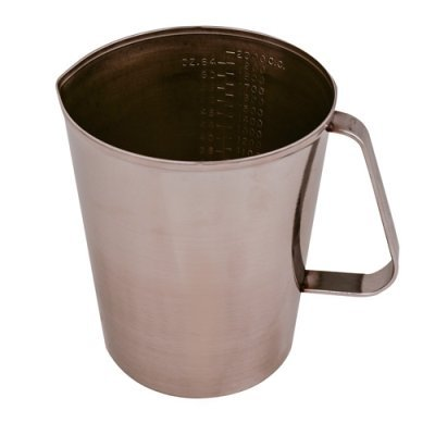 64 oz. Stainless Steel Graduated Measuring Cup (1 Cup)
