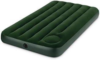 Amazon.com: Intex Downy cama hinchable con bomba de pie ...