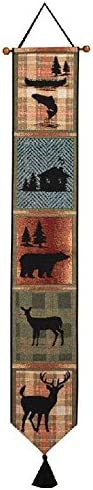 Manual TBPBLD Woodworkers Weavers Tapestry Bell Pull, Bear Lodge