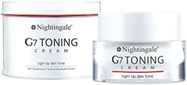 [Nightingale] G7 Toning Whitening Cream