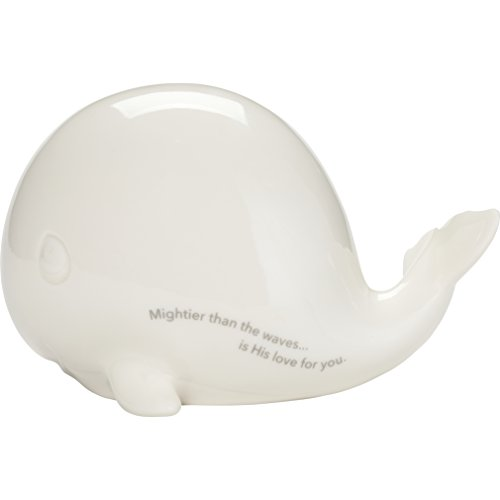 Precious Moments Mightier Than The Waves Whale Led Porcelain Night Light, One Size, Multicolor
