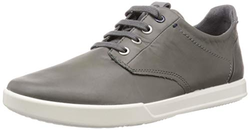 ECCO Men's Collin 2.0 Soft Tie Sneaker Titanium, 46 M EU (12-12.5 US)