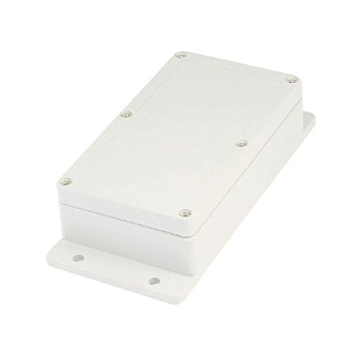 Saim Waterproof Plastic Electronic Project DIY Junction Box Enclosure Case 158mm x 90mm x 46mm]()