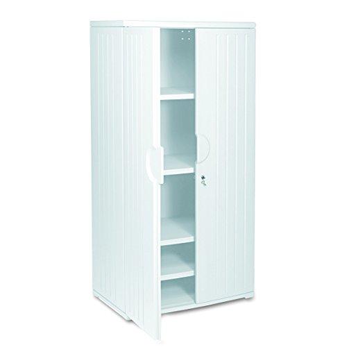 Iceberg ICE92573 OfficeWorks High-Density Plastic Storage Cabinet, 22