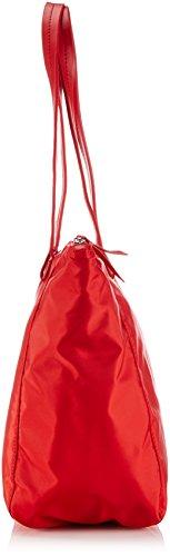 Black 150 Barcelona Rouge Femme Zip 9 Rouge BREE Tote Nylon Sac tOwHtq6v