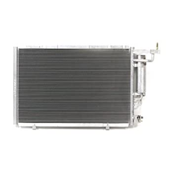 A-C Condenser - Pacific Best Inc For/Fit 4321 14-18 Ford Fiesta Sedan/Hatchback WITH Receiver & Dryer Parallel Flow Construction