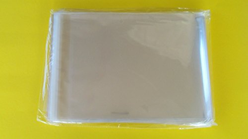 Packaging Bags Suppliers 100ct 11''x15'' & 9''x12'' Clear Resealable Poly Cello Bags Sleeves, Archival