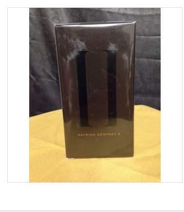 Avon Patrick Dempsey 2 Eau De Toilette Spray 2.5 Fl Oz. Factory Sealed.