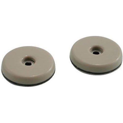 Shepherd Hardware 9452 1-Inch Round, Adhesive Slide Glide Furniture Sliders, 8-Pack