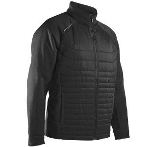 Sun Mountain 2018 Men's Hybrid Golf Jacket (Black, Large) ()