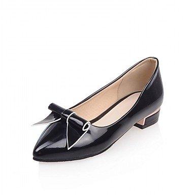 Cómodo y elegante soporte de zapatos de tacón para mujer primavera verano otoño invierno comodidad novedad pu sintético boda oficina y carrera partido y vestido de noche Casual Stiletto talón negro