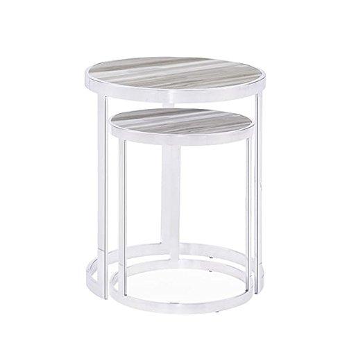 Blink home soho nesting tables, white