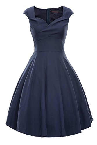 LUOUSE-Womens-Vintage-1950s-Swing-Cocktail-Rockabilly-Party-Dresses