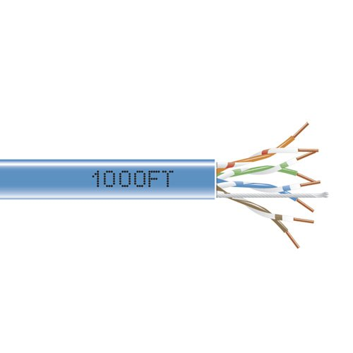 Scp Cat5e Cable - SCP CAT5E-WT 350 MHz 24 AWG 1000 Feet Box