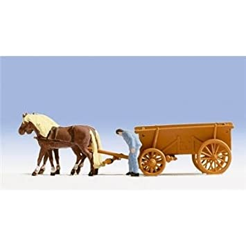 noch 16716 horse drawn milk cart no 16716 for christmas