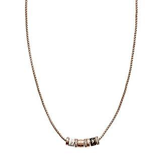 Emporio Armani Damen - Halskette Edelstahl 8