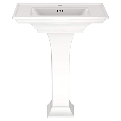 - American Standard 0297100.020 Town Square S Pedestal Sink- Center Hole Only in White,