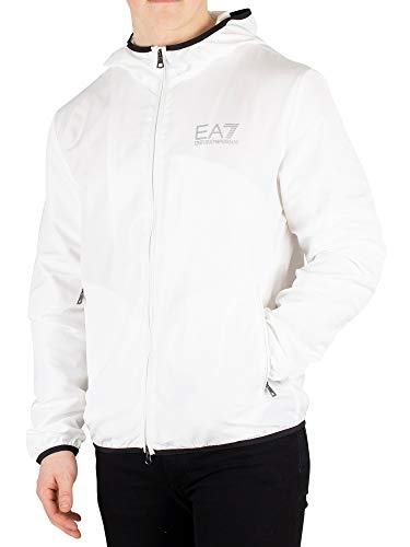 EA7 Men's Lightweight Jacket, White, L for sale  Delivered anywhere in USA