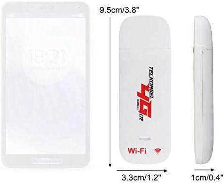 Pceewtyt Unlocked 4G Router LTE WiFi USB Dongle Broadband Modem 150 Mbps Portable Car WiFi Router Hotspot