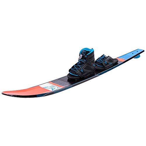 Ho Freeride Evo Slalom Waterski with Free-Max Binding and Rear Toe Plate (71)