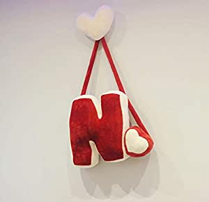 Hanging letters made of fur Size xl