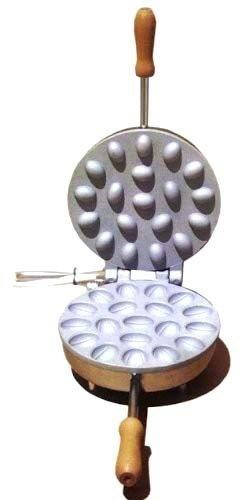 Biscottiera piastra elettrica tonda forma noci CBE Elettrodomestici