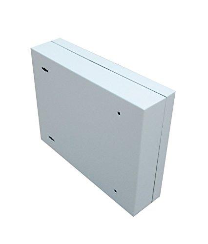 Secure Steel Key Storage Cabinet 93 Keys Gray Box Garage Wall Organizer Lock NEW 15124 by FixtureDisplays (Image #2)