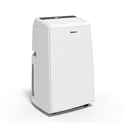 Shinco SPF2 Portable Air Conditioner Cool Fan Quiet Dehumidifier for Rooms Up to 200-400 Sq.Ft