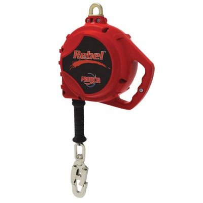 DBI/SALA - Red Rebel Self Retracting Lifeline With 5mm Galvanized Cable - Length: 66' by DBI-Sala