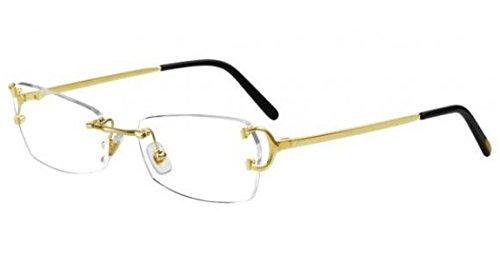 931d6c3fa5 lunettes de vue cartier kensington fop t8100745: Amazon.fr ...