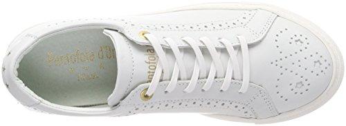 bright Donne Sneaker Donna White Low D'oro Napoli Bianco Pantofola 7wq06nZZ