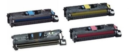 Bulk C970, C9702A, Q3962A HP Compatible Cartridges, Assorted Colors, Black, Cyan, Yellow, Magenta: CHC970 (8 Assorted Cartridges) - C9702a Yellow Cartridge