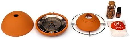 Egloo Rojo - Gadget multiusos calefactor bajo consumo, difusor de ...