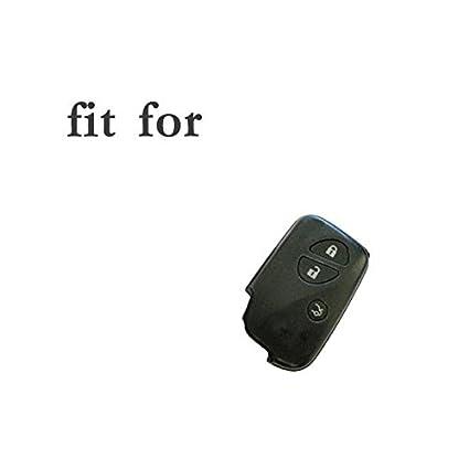Fermeture /éclair sac Cl/é Coque Support Housse en cuir v/éritable pour Lexus Smart Cl/é T/él/écommande 3/Bouton 5406