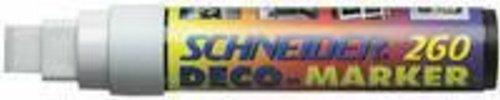 SCHNEID DECO MARKER 260 Weiß 126049 B004L4DAP8       Hochwertige Materialien  0734ed