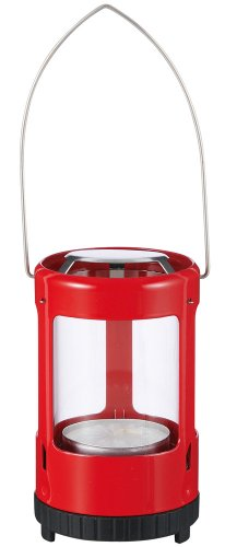 (UCO Mini Ultra Light Candle Lantern for Tealight Candles, Red)