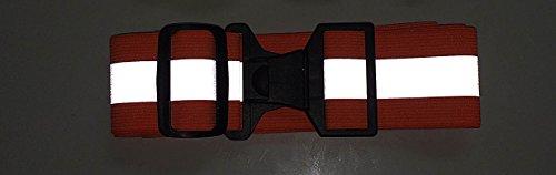 360 USA Reflective Belt Neon Orange