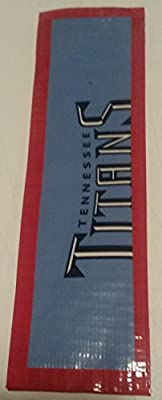 Tennessee Titans NFL Duct Tape Book Mark