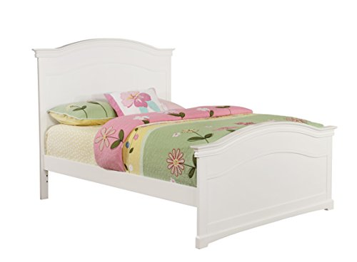 Bolton Furniture 9752500 Cambridge Arched Bed, Full, White