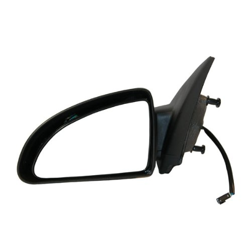 2005-2010 Chevrolet/Chevy Cobalt 4-Door Sedan Power Smooth Black paint to match Non-Folding Rear View Mirror Left Driver Side (2005 05 2006 06 2007 07 2008 08 2009 09 2010 10)