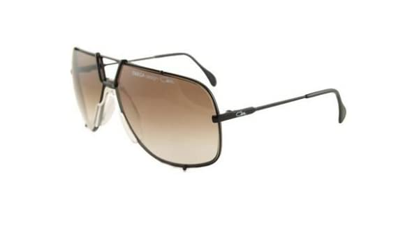 e435ed3e60db Amazon.com  Cazal Sunglasses TARGA 902 BLACK DARK BROWN GRADIENT 049   Clothing
