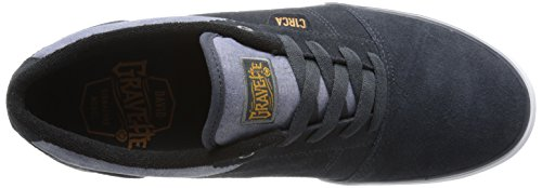 C1rca Mens Goliath Skate Shoe Grafite / Inca Gold